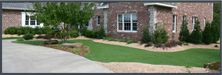 Artificial Grass Commercial Installation